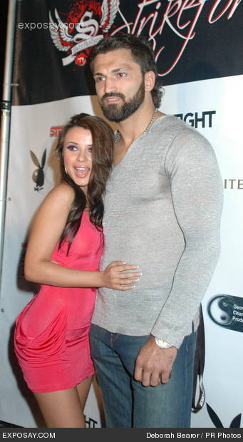 Arlovski and girlfriend